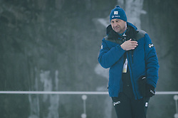 08.03.2020, Holmenkollen, Oslo, NOR, FIS Weltcup Skisprung, Raw Air, Oslo, Herren, Einzel, aufgrund der aktuellen Wettersituation abgesagt, im Bild FIS Technischer Delegierter Sandro Pertile // FIS Technical Delegate Sandro Pertile the men's team competition canceled due to the current weather situation during the Raw Air Series of FIS Ski Jumping World Cup at the Holmenkollen in Oslo, Norway on 2020/03/08. EXPA Pictures © 2020, PhotoCredit: EXPA/ JFK