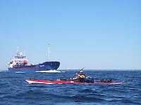 Kayaking Oslofjorden