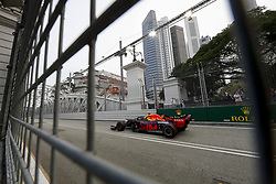 September 20, 2019, Singapore, Singapore: Motorsports: FIA Formula One World Championship 2019, Grand Prix of Singapore, ..#23 Alexander Albon (THA, Aston Martin Red Bull Racing) (Credit Image: © Hoch Zwei via ZUMA Wire)