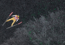 19.01.2018, Heini Klopfer Skiflugschanze, Oberstdorf, GER, FIS Skiflug Weltmeisterschaft, Einzelbewerb, im Bild Anze Semenic (SLO) // Anze Semenic of Slovenia during individual competition of the FIS Ski Flying World Championships at the Heini-Klopfer Skiflying Hill in Oberstdorf, Germany on 2018/01/19. EXPA Pictures © 2018, PhotoCredit: EXPA/ JFK