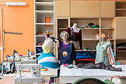 """CAPANNORI, Tuscany, Daccapo tailoring workshop. Marcella Nicolini Daccapo means """"from skratch"""" """" from the beginning"""""""