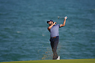 Clement Sordet (FRA) on the 18th during Round 4 of the Oman Open 2020 at the Al Mouj Golf Club, Muscat, Oman . 01/03/2020<br /> Picture: Golffile   Thos Caffrey<br /> <br /> <br /> All photo usage must carry mandatory copyright credit (© Golffile   Thos Caffrey)