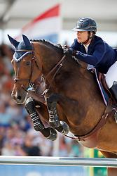 Hecart Marie, FRA, Cenwood Della Lame<br /> Rolex Grand Prix CSI 5* - Knokke 2017<br /> © Hippo Foto - Dirk Caremans<br /> 09/07/17