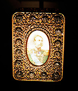 The Murchison snuffbox. A diamond studded snuffbox gifted to Sir Roderick Murchison by the Russian Tsar Alexander II in 1867. Made from Gold, Diamonds and enamel adorned with a portrait of the Tsar on the front.