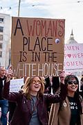 San Francisco, USA. 18th January, 2020. The 4th annual Women's March San Francisco, California.
