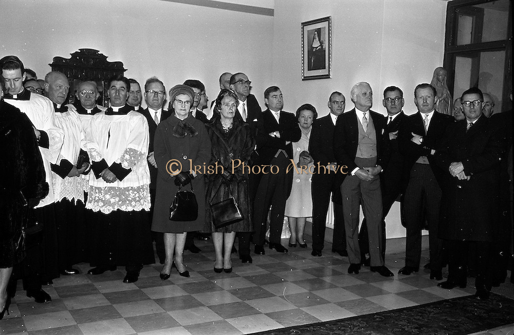 11/02/1963<br /> 02/11/1963<br /> 11 February 1963<br /> Official opening and Blessing of the National Medical Rehabilitation Centre, Our Lady of Lourdes Hospital, Rochestown Avenue, Dun Laoghaire, Co. Dublin.