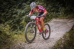 Bosnjak Fran CRO of BBK Sismis during the race of XCO National Championship of Slovenia 2021 on 27.06.2021 in Kamnik, Slovenia. Photo by Urban Meglič / Sportida
