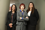 SHOT 12/4/19 11:14:13 AM - McGuane & Hogan, P.C., a Colorado family law firm located in Denver, Co. Includes attorneys Kathleen Ann Hogan, Halleh T. Omidi and Katie P. Ahles. (Photo by Marc Piscotty / © 2019)
