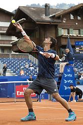 July 26, 2017 - Gstaad, Schweiz - 26.07.2016, Gstaad, Tennis, Swiss Open Gstaad 2017, Thomaz Bellucci (BRA) (Credit Image: © Pascal Muller/EQ Images via ZUMA Press)