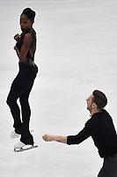 Vanessa JAMES, Morgan CIPRES FRANCE <br /> Bronze  Medal <br /> PAIRS FREE SKATING <br /> Milano 22/03/2018 Assago Forum <br /> Milano 2018 - ISU World Figure Skating Championships <br /> Foto Andrea Staccioli / Insidefoto