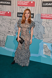 Joséphine de La Baume at the Fabulous Fund Fair in aid of Natalia Vodianova's Naked Heart Foundation in association with Luisaviaroma held at The Round House, Camden, London England. 18 February 2019.