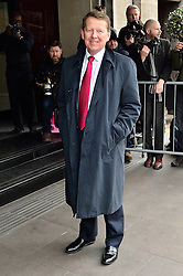 © Licensed to London News Pictures. 08/03/2016. BILL TURNBILL arrives for the TRIC Awards. The Television and Radio Industries Club's annual awards ceremony, honour's the best performers and programmes  of the last year .London, UK. Photo credit: Ray Tang/LNP