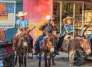 The three amigos in Sayulita, Mexico editorial use only