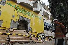 College of Islamic Al-Aziziya destroyed by earthquake in Aceh 11 Dec 2016