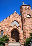 Historical church in Alder, Ruby Valley, Montana.