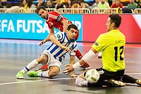 Benfica's Juanjo during UEFA Futsal Cup 2015/2016 3º/4º place match. April 22,2016. (ALTERPHOTOS/Acero)