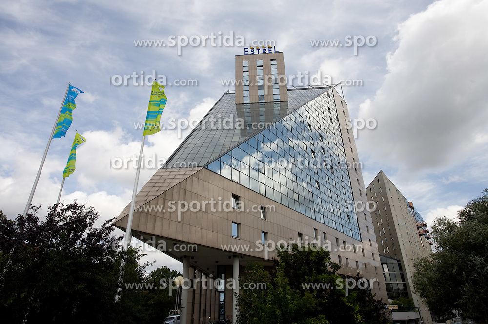 Team hotel Estrel, Sonnenallee 225, 12057 Berlin  at 12th IAAF World Championships in Athletics Berlin 2009, on August 14, 2009, in Berlin, Germany. (Photo by Vid Ponikvar / Sportida)
