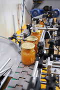 Hand made preserve and jam bottling line