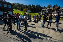 Media day of Ski Association of Slovenia before new winter season 2018/19, on October 4, 2018 in Ski resort Pohorje, Maribor, Slovenia. Photo by Grega Valancic / Sportida