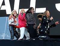 All Saints live on stage at the Isle of Wight Festival, Newport, IOW photo by Dawn Fletcher -Park