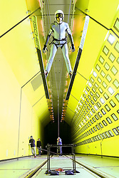 24.07.2015, Klima Wind Kanal, Wien, AUT, OESV, Skisprung, Training im Wind Kanal , im Bild Manuel Poppinger// during a trainingssession of the Austrian ski jumping team in the Climatic Wind Tunnel, Vienna, Austria on 2014/07/24. EXPA Pictures © 2015, PhotoCredit: EXPA/ Sebastian Pucher