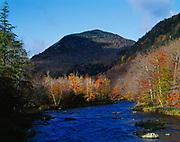 Ausable River above High Falls Gorge, Adirondack Park, New York.