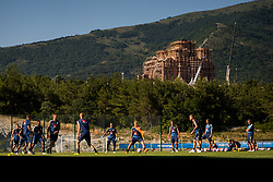 July 4, 2018 - Gelendzhik, Russia - 180704 General view of the Swedish national football team at a practice session during the FIFA World Cup on July 4, 2018 in Gelendzhik..Photo: Petter Arvidson / BILDBYRN / kod PA / 92081 (Credit Image: © Petter Arvidson/Bildbyran via ZUMA Press)