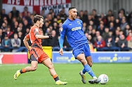 AFC Wimbledon Defender Terell Thomas (6) during the EFL Sky Bet League 1 match between AFC Wimbledon and Wycombe Wanderers at the Cherry Red Records Stadium, Kingston, England on 27 April 2019.