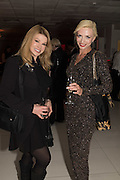 CINDY JACKSON; LANA HOLLOWAY; , Liz Brewer Festive Celebration hosted by Daphne Mckinley Edwards chairman of the Sean Edwards , Foundation at Altitude. Millbank Tower, London SW1. 3 DECEMBER 2016.