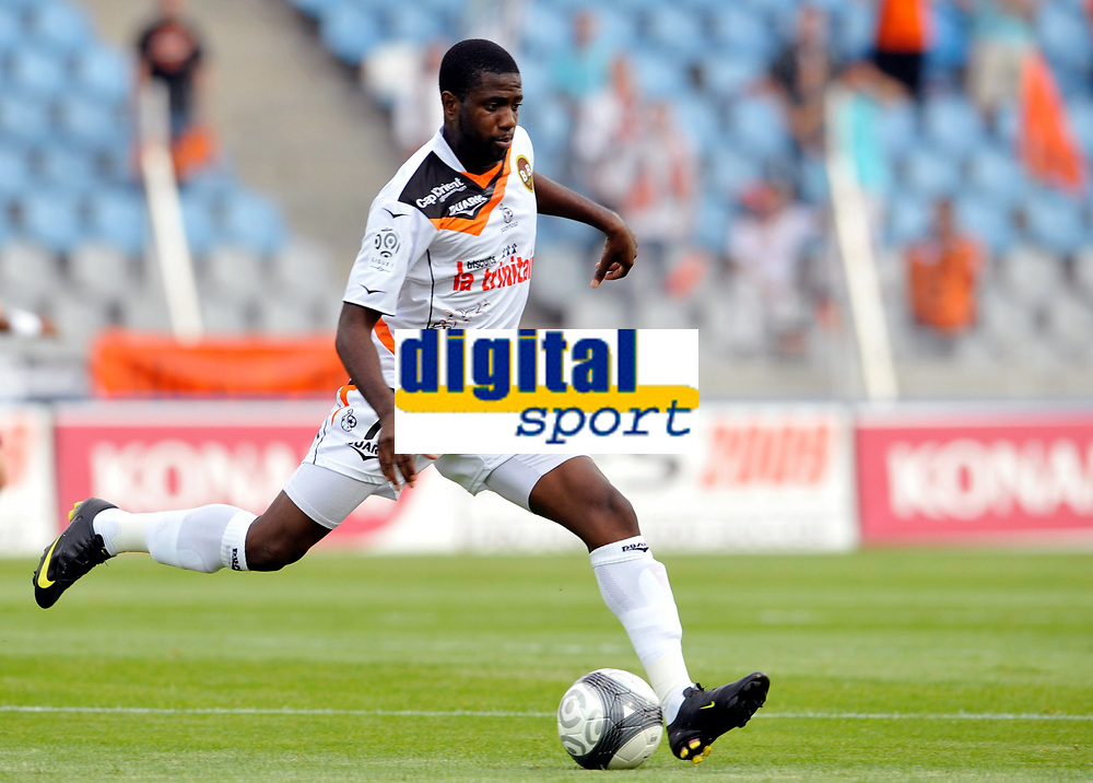 Fotball<br /> Frankrike<br /> Foto: DPPI/Digitalsport<br /> NORWAY ONLY<br /> <br /> FOOTBALL - FRENCH CHAMPIONSHIP 2009/2010 - L1 - LILLE OSC v FC LORIENT - 9/08/2009<br /> <br /> SIGAMARY DIARRA (LOR)