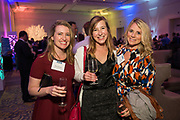 From left to right, Ellen Knobeloch of Pacific Ridge Builders, Stephanie Boyle of BCCI, and Kristi Pearce-Percy of Cuschieri Horton Architects pose for a photo during the Silicon Valley Business Journal's Annual Silicon Valley Structures Awards event at the Fairmont San Jose in San Jose, California, on September 21, 2017. (Stan Olszewski for Silicon Valley Business Journal)