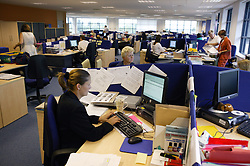 Busy office at the NHS Octavia House,