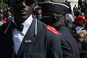 Washington, D.C-Oct 10:  Nation of Islam attends the Million Man March 20th Anniversary March aka JusticeOrElse March held in Washington, D.C. on October 10, 2015.  Photo by Terrence Jennings/terrencejennings.com
