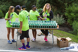 volunteer water station on course