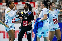 08-12-2019 JAP: Angola - France, Kumamoto<br /> First round President's Cup match Angola - France (17-28) at 24th IHF Women's Handball World Championship. / Catherine Gabriel #94 of France