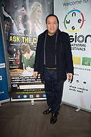 Raza Mallal at  the Ask the Cheat film screening. Crowne Plaza London Docklands.