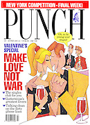 "(Punch front cover 13 February 1991). ""Oh, to be young and stupid"""