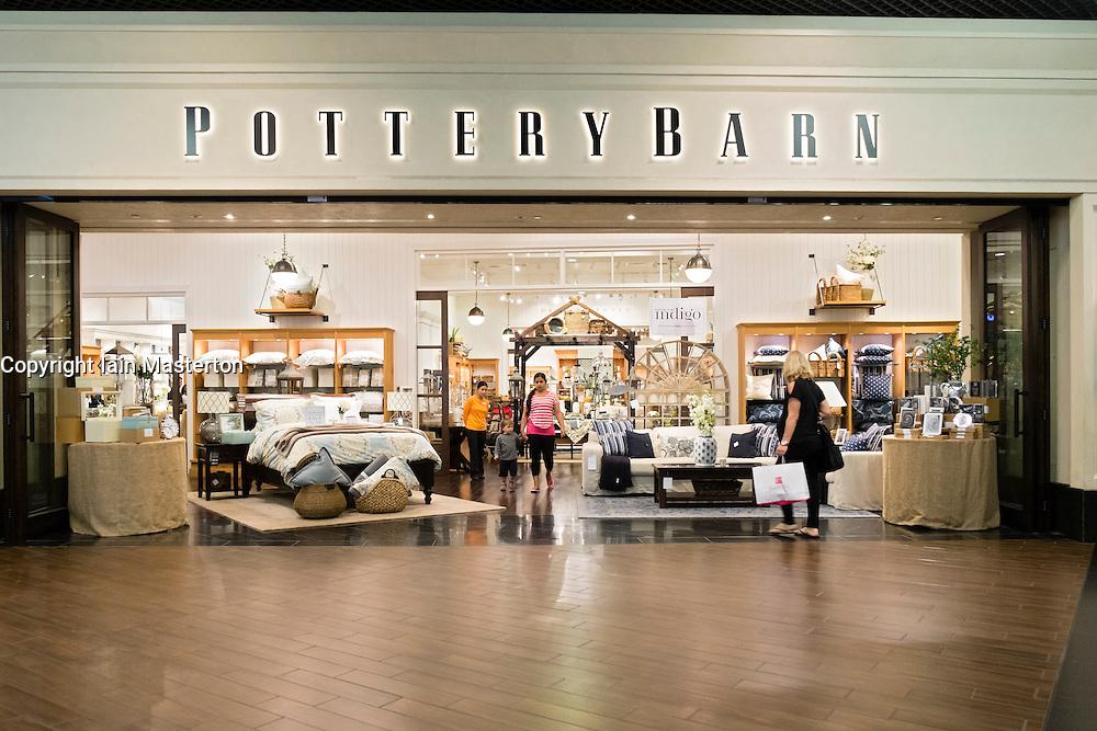 Pottery Barn shop in Dubai Mall United Arab Emirates