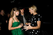 KATE PRINCE, DUNCAN JAMES AND JENNI FALCONER, INTO THE HOODS - a hip hop dance musical -opening  at the Novello Theatre on The Aldwych. After- party at TAMARAI at 167 Drury Lane, London. 27 March 2008.   *** Local Caption *** -DO NOT ARCHIVE-© Copyright Photograph by Dafydd Jones. 248 Clapham Rd. London SW9 0PZ. Tel 0207 820 0771. www.dafjones.com.