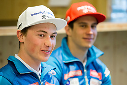 at press conference of Slovenian Alpine Ski Team before World Cup in St. Moritz, on January 31 2017, in Ljubljana, Slovenia. Photo by Urban Urbanc / Sportida