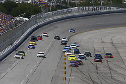 April 29, 2018 - Talladega, Alabama, United States of America - The Monster Energy NASCAR Cup Series teams race down the front stretch during the GEICO 500 at Talladega Superspeedway in Talladega, Alabama. (Credit Image: © Chris Owens Asp Inc/ASP via ZUMA Wire)