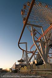 Ferris Wheel by the Race of Gentlemen. Wildwood, NJ, USA. October 11, 2015.  Photography ©2015 Michael Lichter.