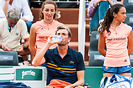 Julien Benneteau (fra) during the Roland Garros French Tennis Open 2018, day 4, on May 30, 2018, at the Roland Garros Stadium in Paris, France - Photo Pierre Charlier / ProSportsImages / DPPI
