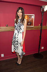 GEMMA CHAN at the launch of La Maison Remy Martin pop-up private members club at 19 Greek Street, Soho, London on 2nd November 2015.