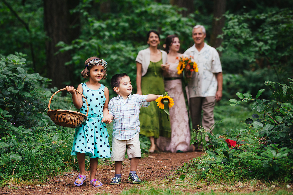 Maya and Jordan's wedding at Oxbow Regional Park