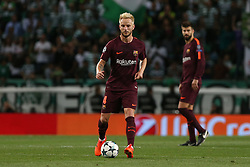 September 27, 2017 - Lisbon, Lisbon, Portugal - Barcelonas midfielder Ivan Rakitic from Croatia during the match between Sporting CP v FC Barcelona UEFA Champions League playoff match at Estadio Jose Alvalade on September 27, 2017 in Lisbon, Portugal. (Credit Image: © Dpi/NurPhoto via ZUMA Press)