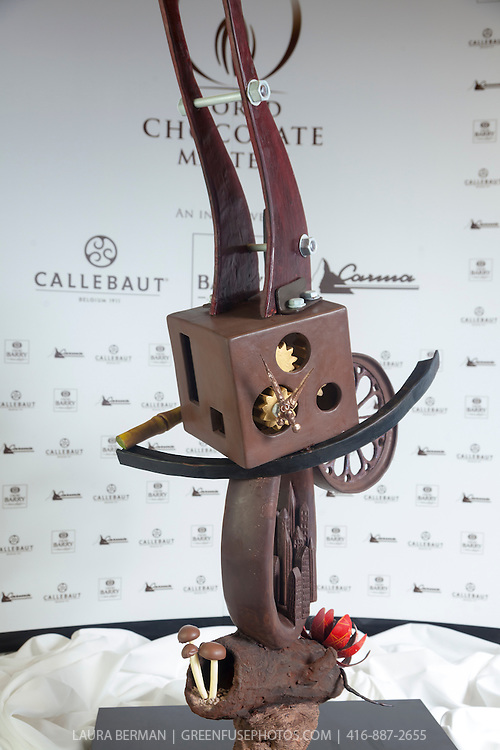 Olivier Tribut's winning Artistic Showpiece. World Chocolate Masters Canadian Selection, January 20, 2013.