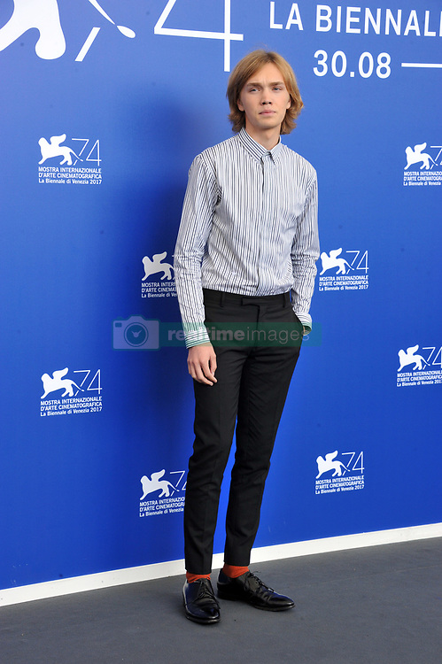 "74 Venice Film Festival ""Lean on Pete"" Photocall. 01 Sep 2017 Pictured: 74 Venice Film Festival ""Lean on Pete"" Photocall, Charlie Plummer. Photo credit: Pongo / MEGA TheMegaAgency.com +1 888 505 6342"