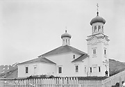 "9707-K191. ""Greek Church at Unalaska"" June 22-24, 1917 Alaska"