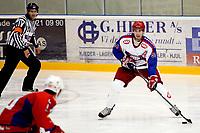 Ishockey<br /> GETligaen<br /> Lørenskog Ishall<br /> 17.09.09<br /> Lørenskog - Vålerenga VIF<br /> Regan Kelly<br /> Foto: Eirik Førde